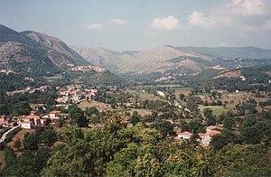 Casalattico - Image: Comino Valley