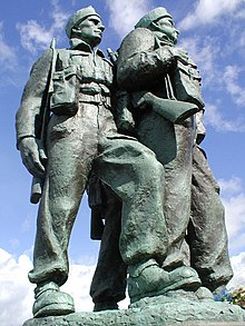 Commando Memorial above Spean Bridge - geograph.org.uk - 372539.jpg