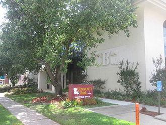 Mansfield, Louisiana - Community Bank of Louisiana in Mansfield