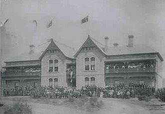 Concordia College (South Australia) - The College at Highgate on opening day, 1905
