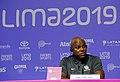 Conferencia de prensa de medallistas Carl Lewis y Leroy Burrel - 48468077416.jpg