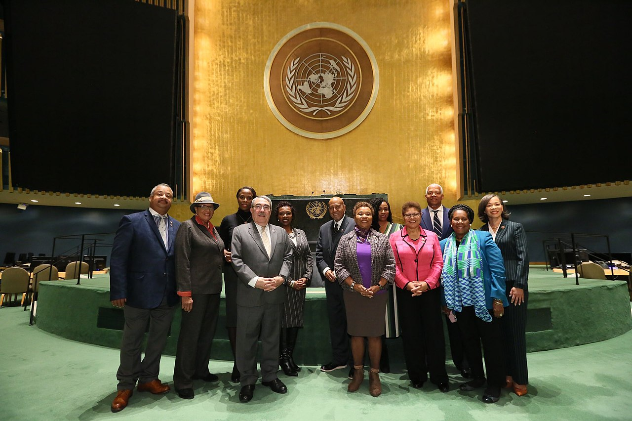 Congressional Black Caucus members at the UN.jpg