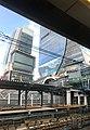 Construction on Shibuya Station seen from Yamanote Line platform - Oct 28 2019.jpeg