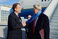 Consul General Moeller welcomes Secretary Kerry to Germany before meeting with Sultan of Oman.jpg