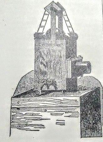 Slide projector - Continuous-Slide Lantern, ca. 1881