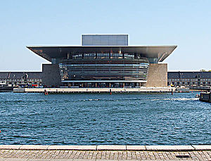 Mærsk Mc-Kinney Møller - The Copenhagen Opera at the harbour