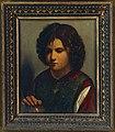 Copia da Giorgione - Ritratto di giovane, olio su tavola, 1520 circa.jpg