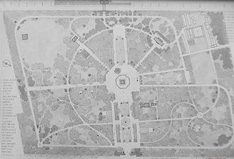Copou Park - Image: Copou Park (archival salvage)
