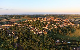 A view of Cordes-sur-Ciel