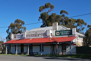 Coreen Town in New South Wales, Australia