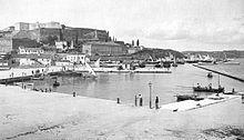 Порт Корфу в 1890