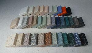 Corian - Corian samples
