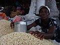 Corn vendor in Ghana (5927490622).jpg
