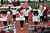 Cornell cheerleaders at Columbia football game 2018.jpg