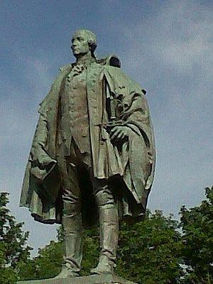 Statue of Edward Cornwallis - Image: Cornwallis Statue Halifax Nova Scotia
