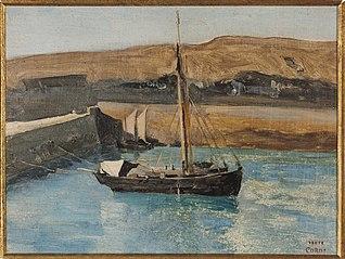 A Fishing Boat, Honfleur