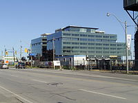 Corus Quay under construction.JPG