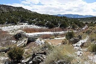 Costilla Creek Tributary of the Rio Grande