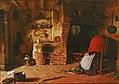Cottage Fireside. Frederick Daniel Hardy, 1850.jpg