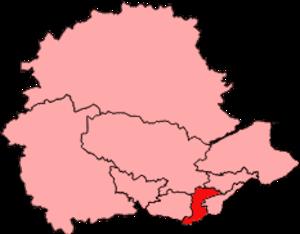 Cowdenbeath (Scottish Parliament constituency) - Image: Cowdenbeath (constituency) 2011