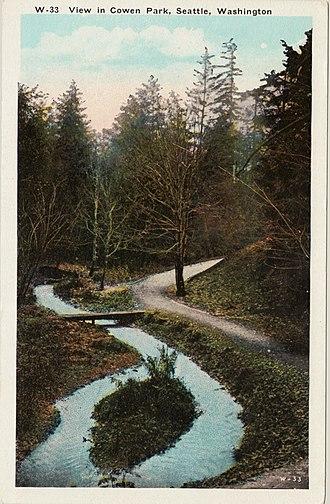 Ravenna Park - Image: Cowen park 01 front