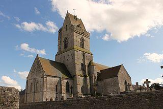 Crépon Commune in Normandy, France