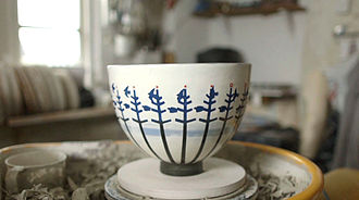 Phonotrope - Pot created by RAMP Ceramics and Jim Le Fevre. Still taken from camera work by Mike Paterson/Pfilms