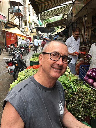 Craig Bloxom - Craig Bloxom in India in September 2018