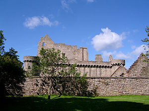 Craigmillar Castle - Image: Craigmillar Castle