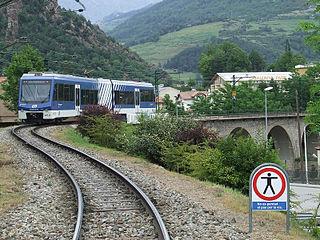 Vall de Núria Rack Railway railway line