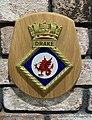 Crest from Her Majesty's Naval Base, Devonport (HMNB Devonport), also known as HMS Drake.jpg