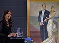 Cristina Fernandez en el Museo del Bicentenario.jpg