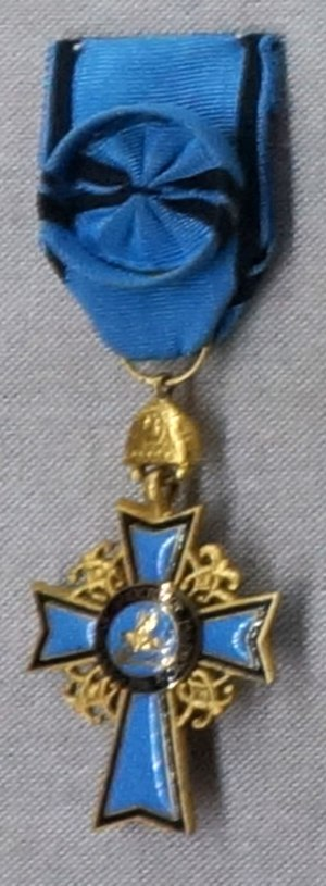 Greek Orthodox Patriarchate of Alexandria and all Africa - Cross of St Mark. Honorary religious medal of the Patriarchate