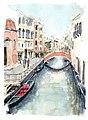 Croquis aquarellé- Venise (5623982700).jpg