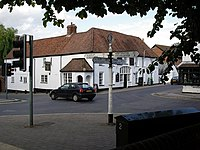 Crossroads in the centre of Overton - geograph.org.uk - 220033.jpg