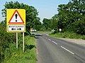 Crossroads near Cold Ashby - geograph.org.uk - 184118.jpg