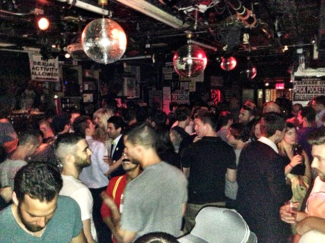 File crowd at the cock bar nyc 2013 for Uniform swimming pool spa and hot tub code 2012 edition