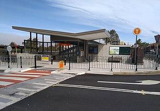 Croydon railway station, Sydney - Image: Croydon railway station 20180415 02