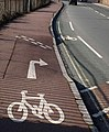 Cruelty to cyclists - geograph.org.uk - 1723203.jpg