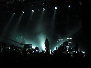 Crystal Castles (band) - Crystal Castles in Helsinki, Finland, in June 2011.
