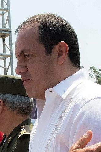 Governor of Morelos - Image: Cuauhtemoc Blanco 2