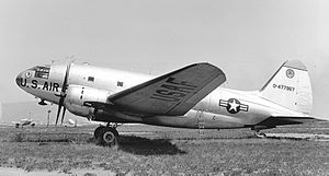 65th Military Airlift Support Group - Image: Curtiss C 46D 44 77967 (6028365648)
