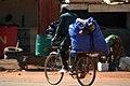 Cyclistes dans les rues de Ouagadougou.jpg