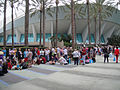 D23 Expo 2011 - lining up as far as you can see for D23 (6075797990).jpg
