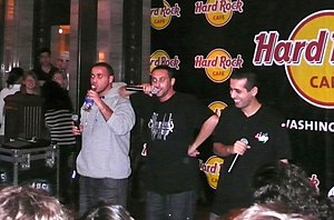 DAM (band) - Image: DAM at DC Hard Rock Cafe