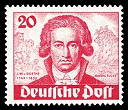 DBPB 1949 62 Johann Wolfgang von Goethe