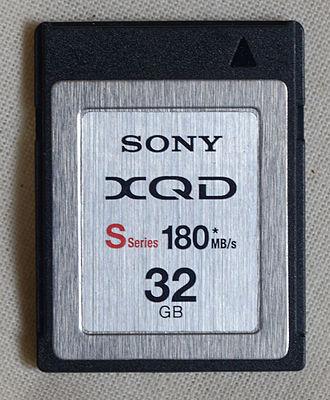 XQD card - Image: DS7 4260 PK