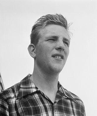 Daan de Groot - Daan de Groot in 1952