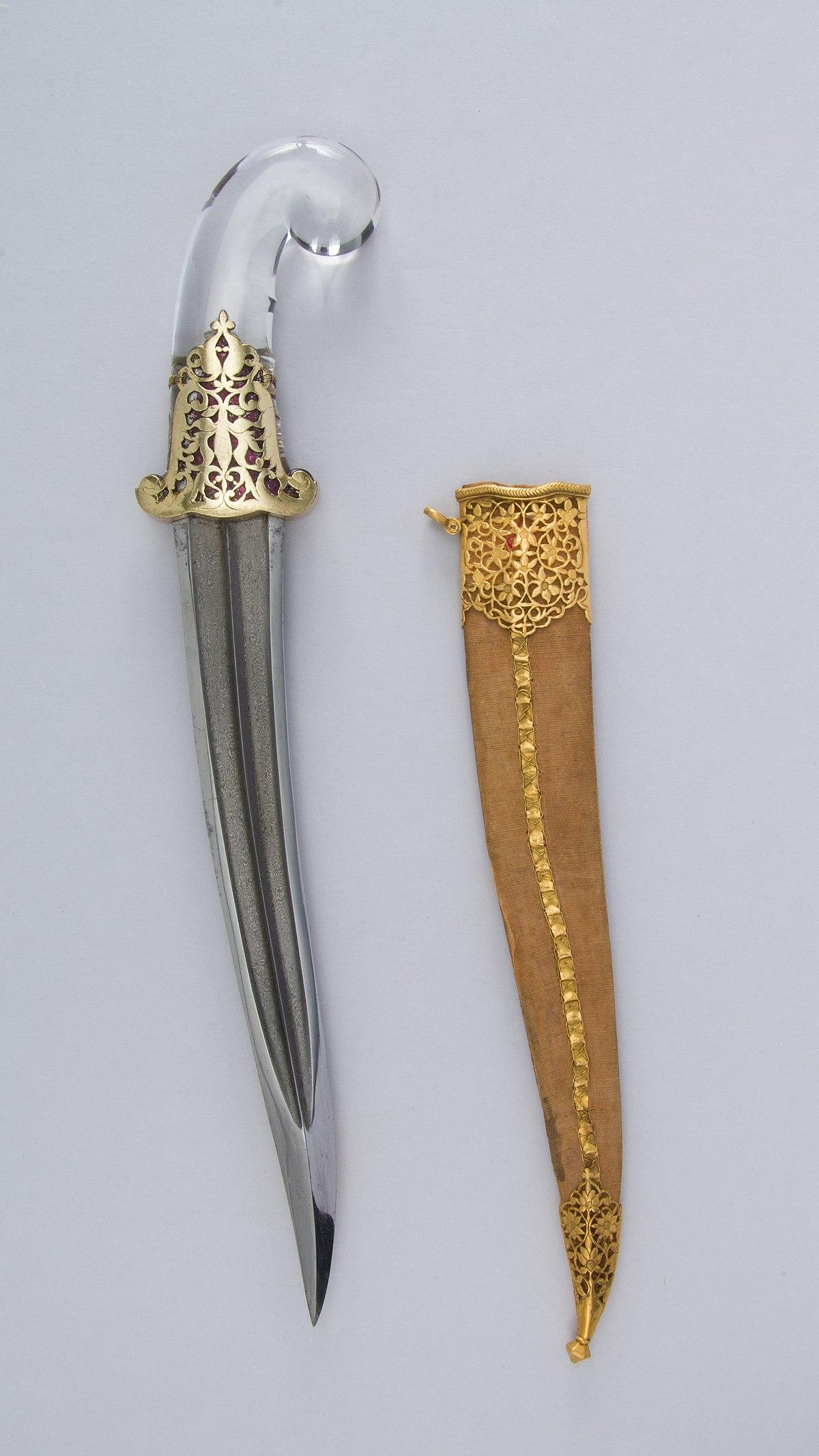 Dagger (Khanjar) with Sheath MET 36.25.718ab 005june2014.jpg