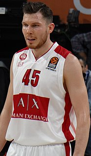 Latvian basketball player